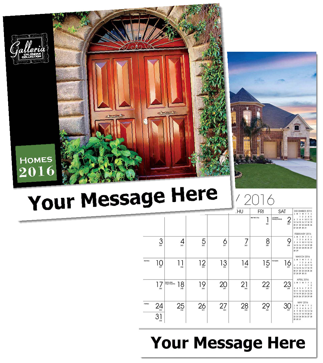 Wholesale Homes Calendars, Personalized with Custom Imprint