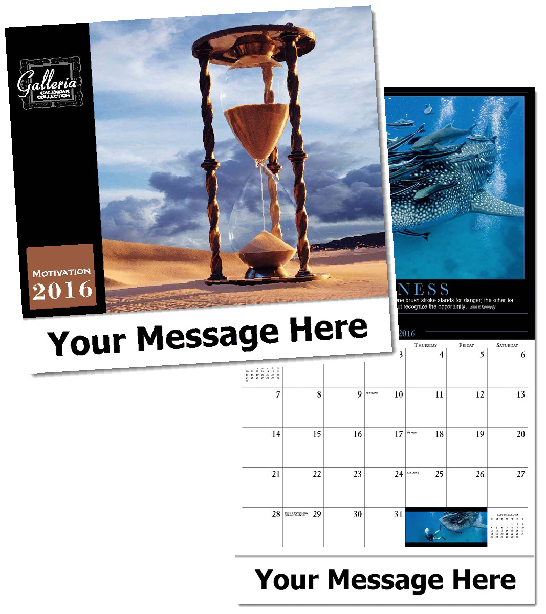 Wholesale Motivations Calendars, Personalized with Custom Imprint