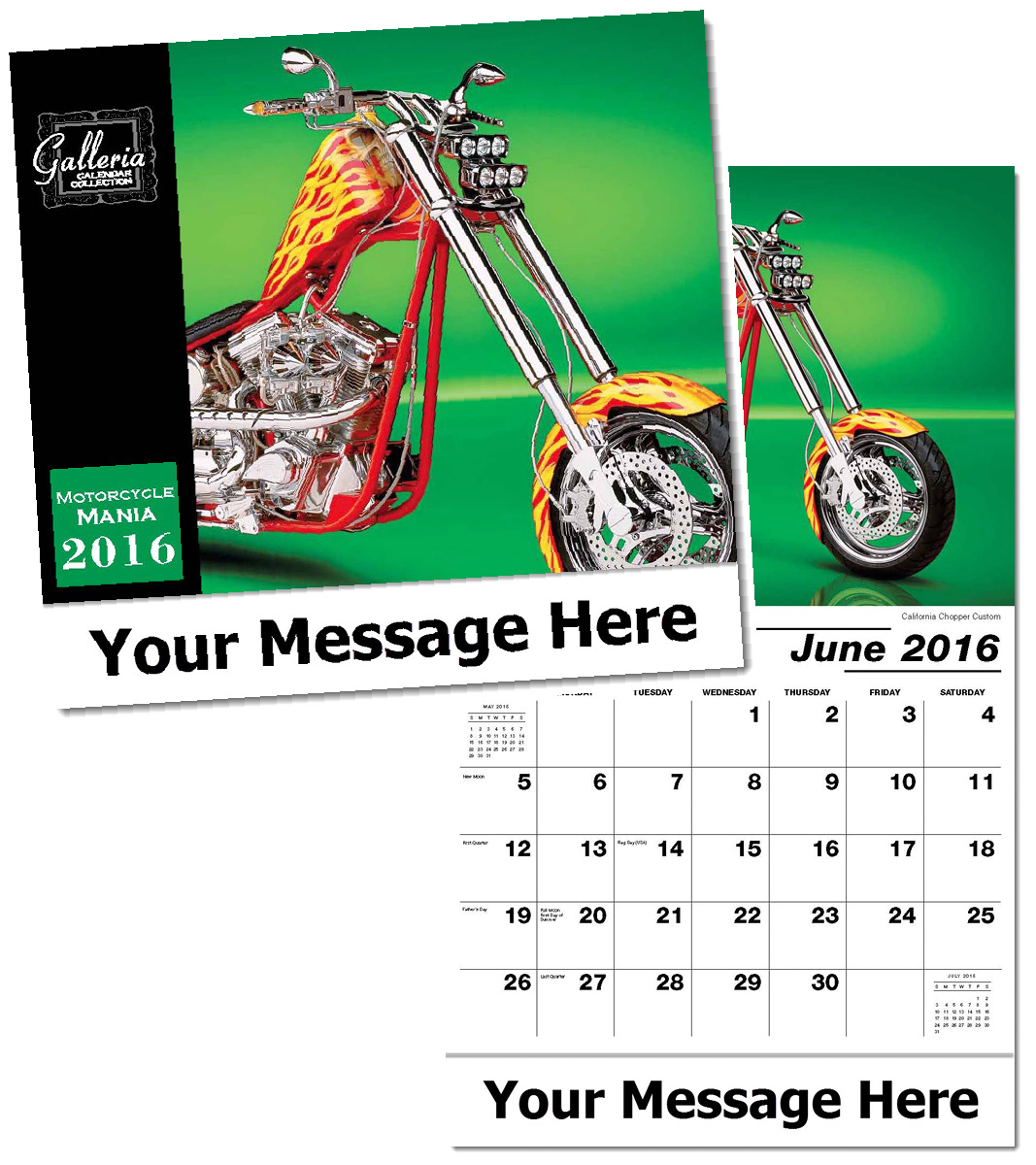 Wholesale Motorcycles Calendars Personalized
