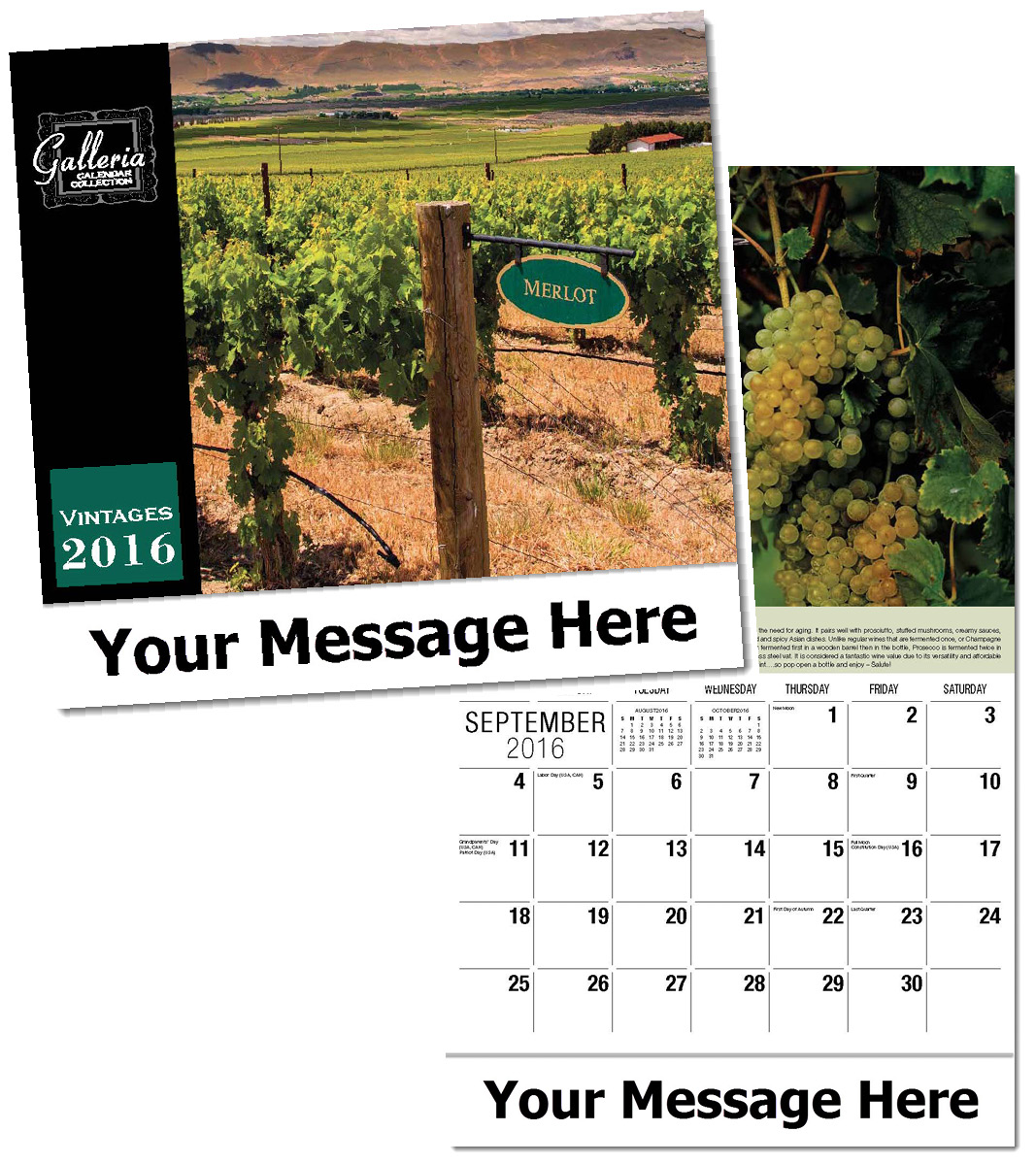 Wholesale Vintages Calendars, Personalized with Custom Imprint