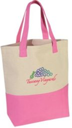 canvas tote bags wholesale, Navy, Black, Forest Green, Pink, Red, Royal Blue or Purple