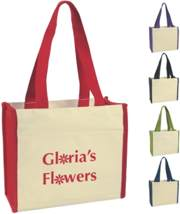 colored canvas tote bags wholesale