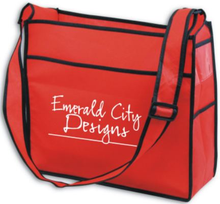 fashion ID bag personalized Red, Black, Blue