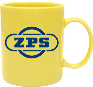 personalized colored coffee mugs in Lime