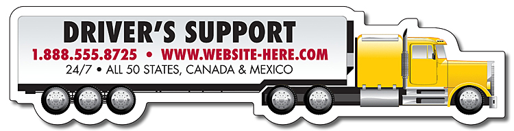 Custom Auto Shaped Magnets In Bulk Car Van Truck Cheap - Custom car magnets canada