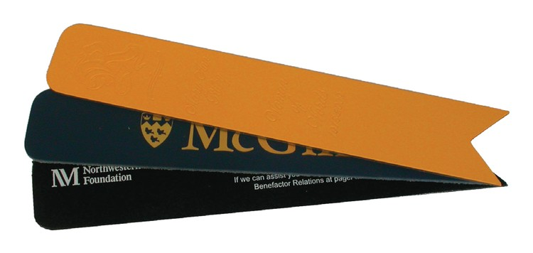 Wholesale Leather Bookmarks in Bulk, Personalized, Orange, Brown, Navy, Black, Yellow, Red.