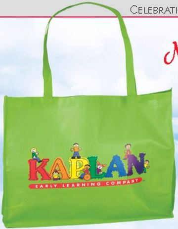 full color eco-friendly shopping totes