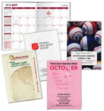 wholesale paper insert desk planners -full color planners in bulk