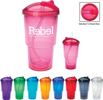 Personalized Acrylic Insulated Tumblers Custom Printed in Bulk
