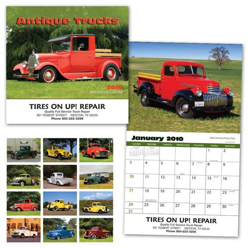 2012 Custom Antique Trucks Calendar, Personalized