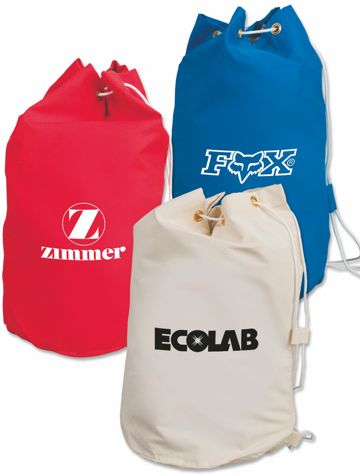 wholesale drawstring barrel bags wholesale personalized, red, blue, natural