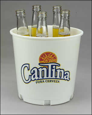 Custom Beer Buckets Personalized In Bulk Promotional