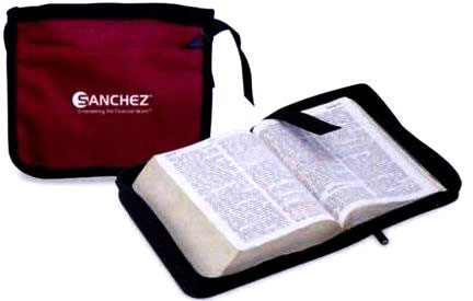 wholesale bible covers, zippered, black or burgundy