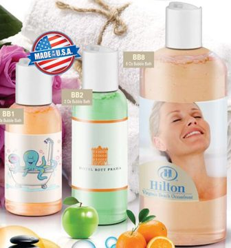 Cheap Promotional Bubble Bath Bottles, Personalized in Bulk