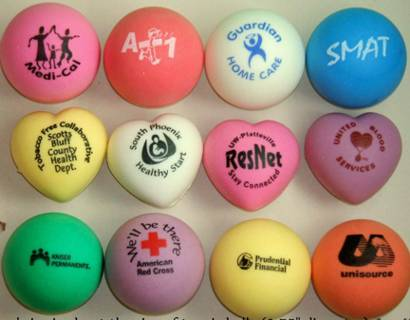 Cheap Personalized Stress Balls, Custom Printed in Bulk