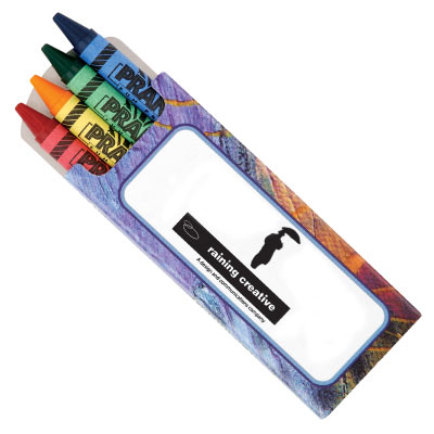 wholesale crayon pack of 4, personalized in bulk