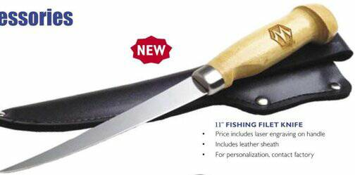 personalized fishinhg knives
