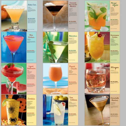 Personalized Cocktails Calendars in BUlk