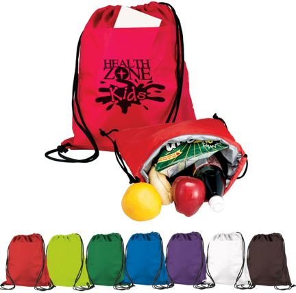 personalized backpack coolers Lime Green, Reflex Blue, Purple, Red, White, Hunter Green, Black