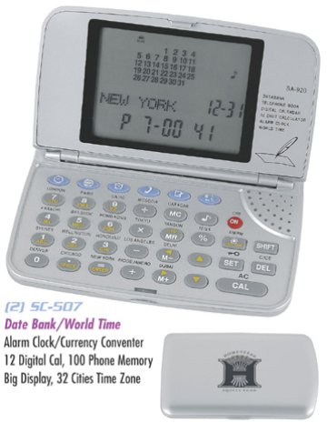 Data Bank Personalized Wholesale Electronic Organizer
