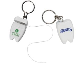 Personalized Dental Floss Key chains, FDA approved, Mint flavored