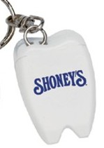 cheap personalized dental floss key chains in bulk