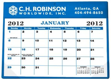 Personalized Desk Pad Calendars, Custom Printed in up to Full Color