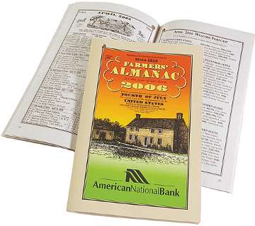 wholesale farmers almanac personalized