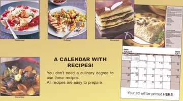 Wholesale printable Cooking calenders