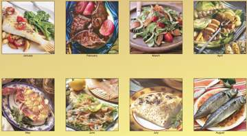 Wholesale custom Cooking calendars