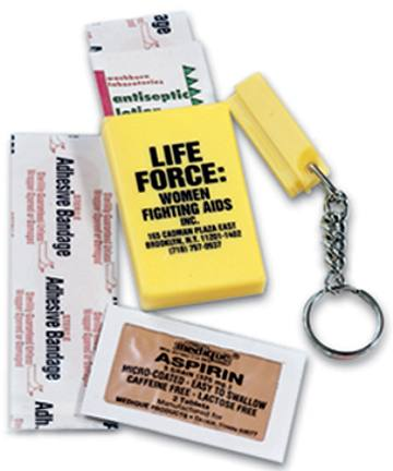 Wholesale First Aid Keychains