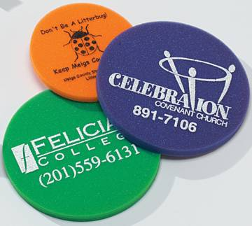 Custom foam frisbees, wholesale, Red, Orange, Yellow, Green, Blue, Athletic Gold, Charcoal Gray, Pink, Violet Purple, Navy Blue