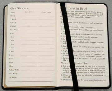 Custom Golf Rules Book Personalized in Bulk