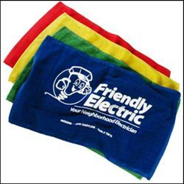 cheap personalized rally towels in bulk, personalized, Red, Royal Blue, Yellow, Green, Orange, Navy Blue, Black