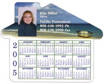 Wholesale Custom House Calendar Magnets in Bulk
