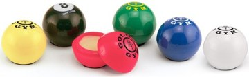 personalized lip balm balls, customized in bulk