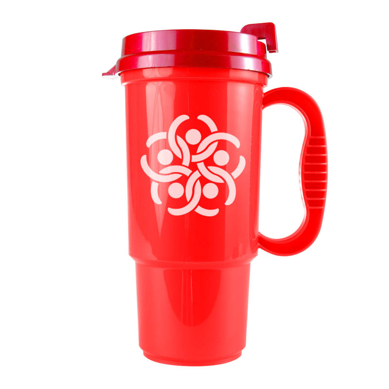Custom Bargain Travel Mugs Personalized in Bulk