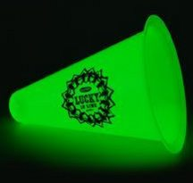 Megaphone Glow in The Dark, Personalized