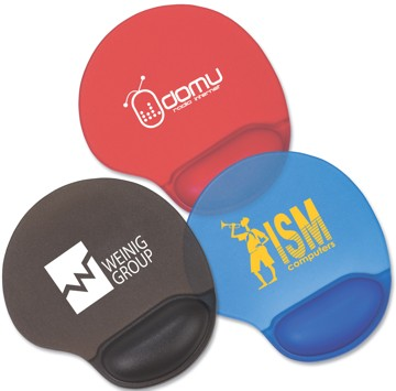 ergonomic gel wrist gel mouse pads, customized. Best in USA, Canada