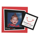 "picture frame magnet with 3""x3"" punch out"