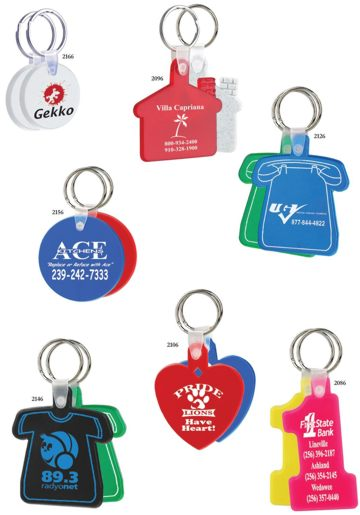 Personalized Number One Key Tags, Phone Key Tags, Heart Key Tags, House Key Tags