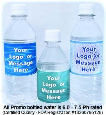 Wholesale Personalized Bottled Water in Bulk 12 oz 16.9 oz