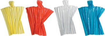 wholesale emergency rain ponchos in bulk, Clear, Yellow, Red, Green, Navy Blue, Royal Blue