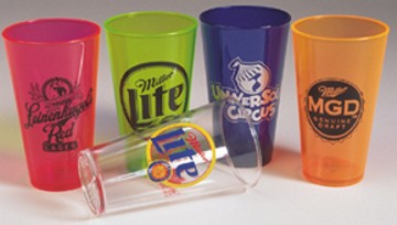 Wholesale Acrylic Beer Glasses