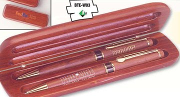 wholesale personalized rosewood pen set