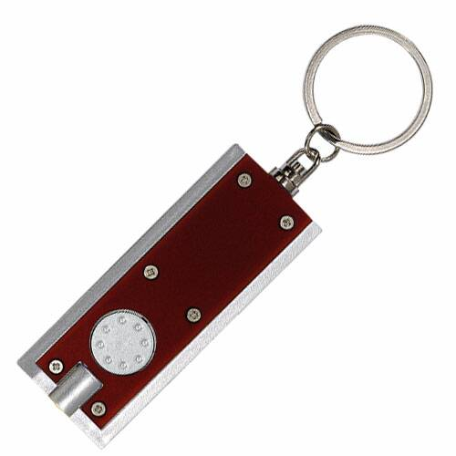 flashlight keychains in bulk, personalized, Black, Blue, Red