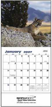 wholesale small wall calendars