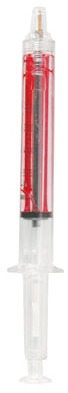 Personalized Syringe Pens Red