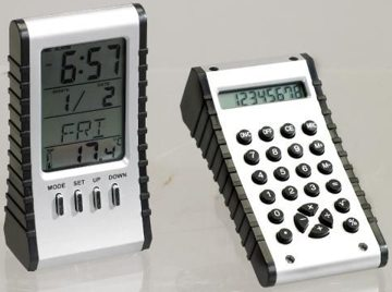 thermometer clock calculator personalized in bulk