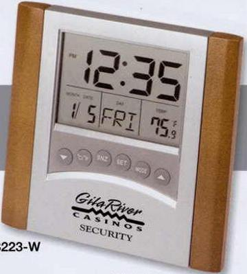 Clock Thermometer Calendar Customized in Bulk